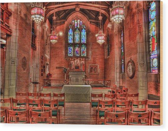 The Altar Wood Print