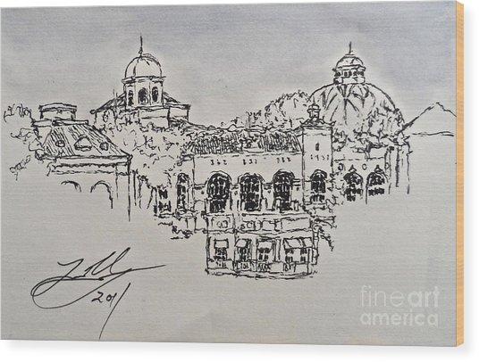 The Bellagio Wood Print
