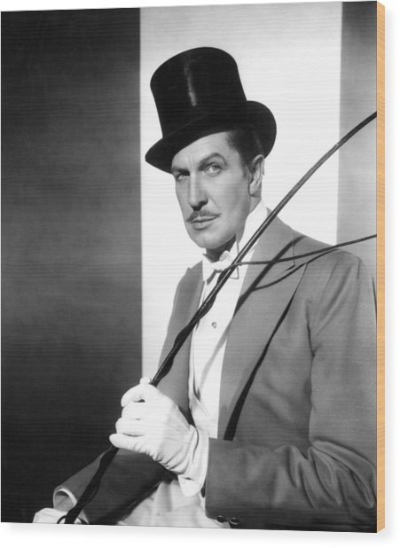 The Big Circus, Vincent Price, 1959 Wood Print by Everett