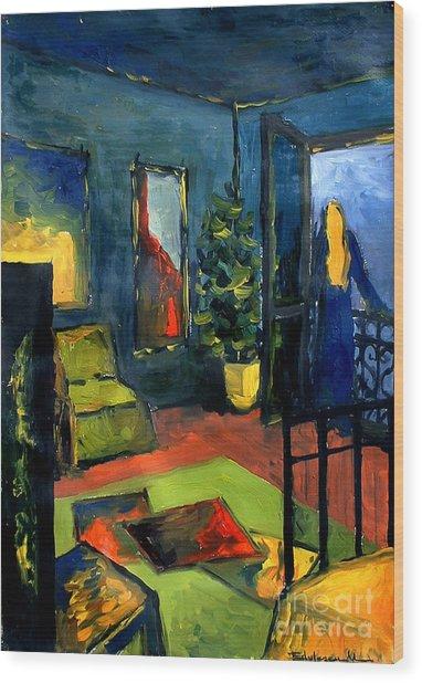 The Blue Room Wood Print