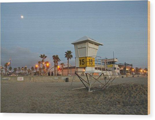The Boardwalk Wood Print