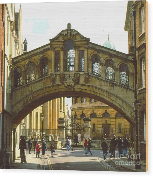 The Bridge Of Sighs Wood Print