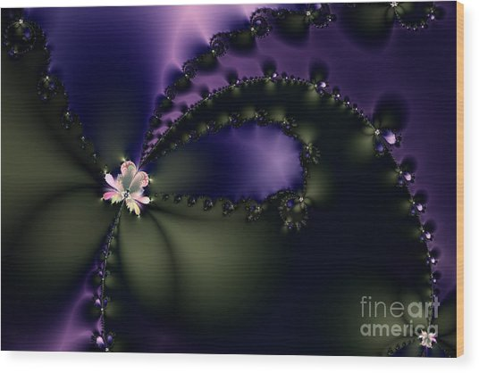 The Butterfly Effect Wood Print by Wingsdomain Art and Photography