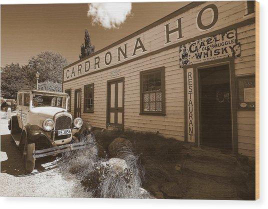 The Cardrona Hotel Wood Print