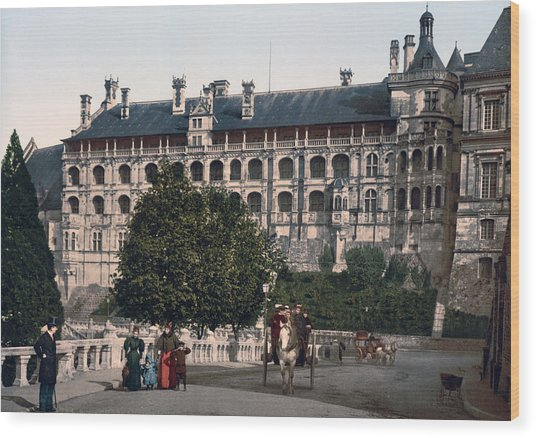The Castle In Blois - France Wood Print by International  Images
