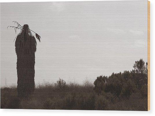 The Chief Wood Print