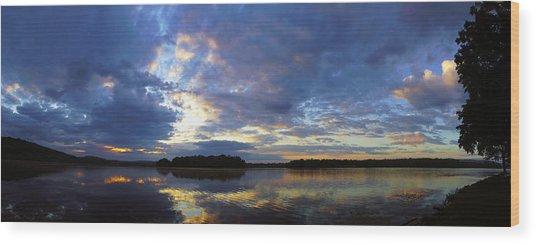 The Colors Of Morning  Wood Print by John Ungureanu