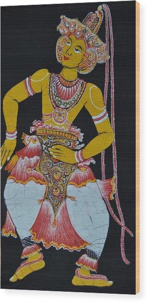 The Dance Wood Print by Kumi Rajagopal
