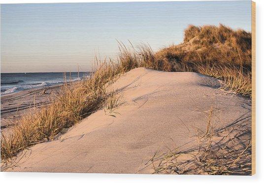 The Dunes Of Jones Beach Wood Print by JC Findley