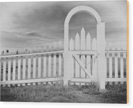 The Gate Wood Print