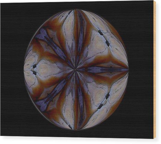 The Glow Wood Print by Yvette Pichette