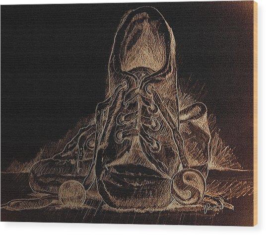 The Good 'ole Days Wood Print by Yvonne Scott