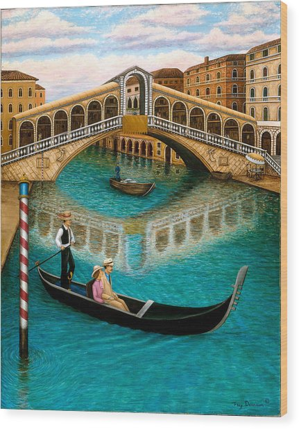 The Grand Canal Wood Print