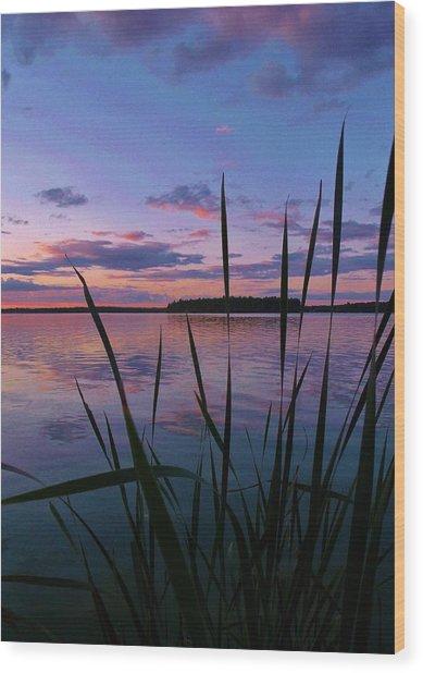 The Grass Wood Print by Virginia Lei Jimenez
