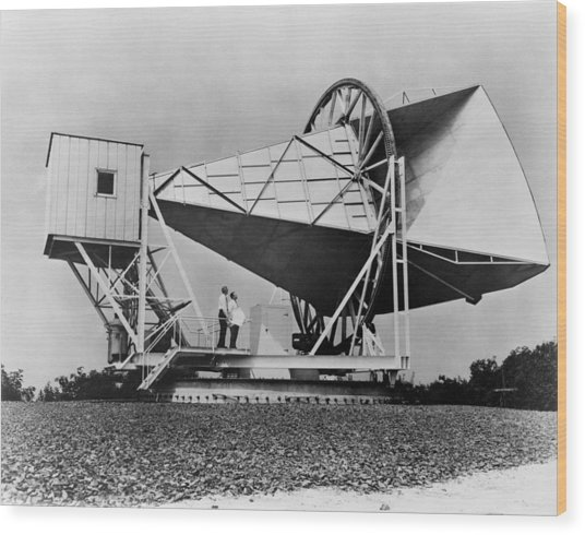The Horn Reflector Antenna At Bell Wood Print by Everett