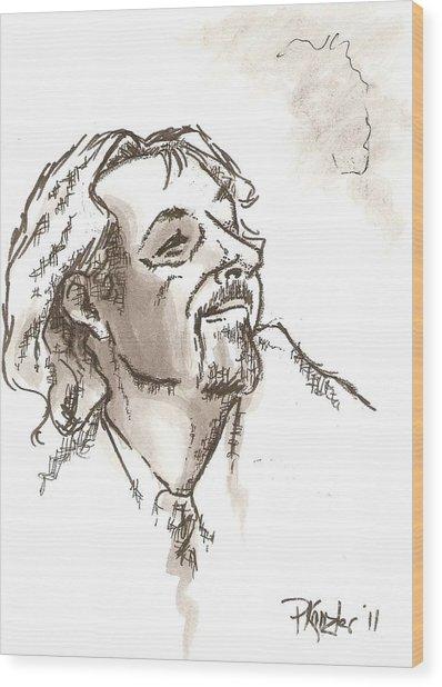 The Leader Of The Choir Wood Print