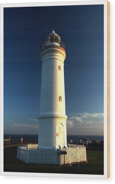 The Light Tower Wood Print by Alexey Dubrovin