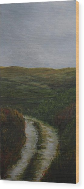 The Long Acre Wood Print by Siobhan Lawson