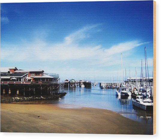Wood Print featuring the photograph The Old Fisherman's Warf by Matt Hanson