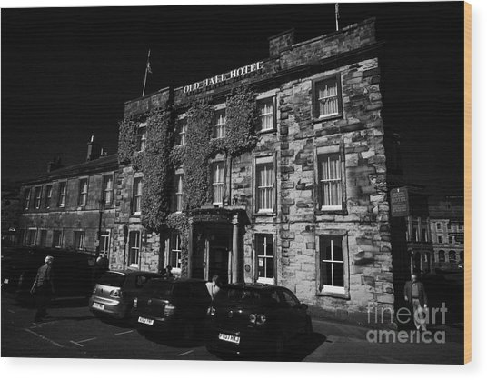 The Old Hall Hotel One Of The Oldest Buildings In Buxton Derbyshire England  Uk