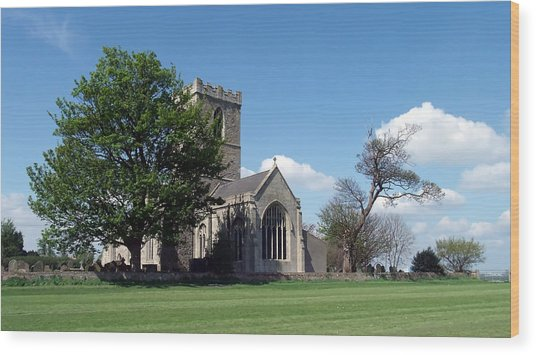 The Parish Church Of St Andrew Wood Print
