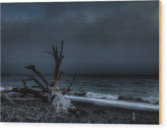 The Storm Wood Print by Matt Dobson