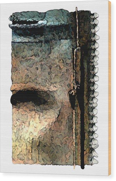 The Survival Of Nature Wood Print by Brenda Leedy