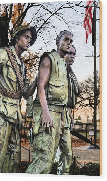 The Three Wood Print by JC Findley