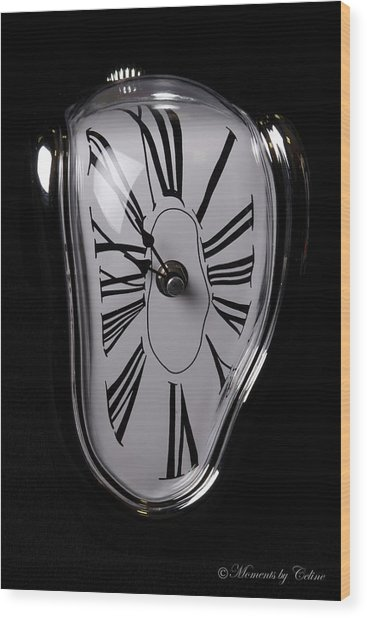 The Timepiece Wood Print