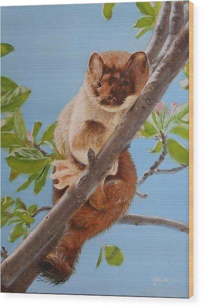 The Weasel Wood Print