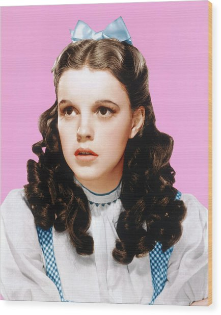 The Wizard Of Oz, Judy Garland, 1939 Wood Print by Everett