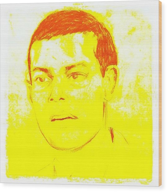 #theislandpresident #president #mvcoup Wood Print