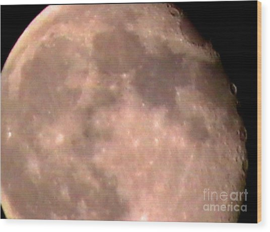 Theres A Moon Out Tonight Wood Print by John From CNY