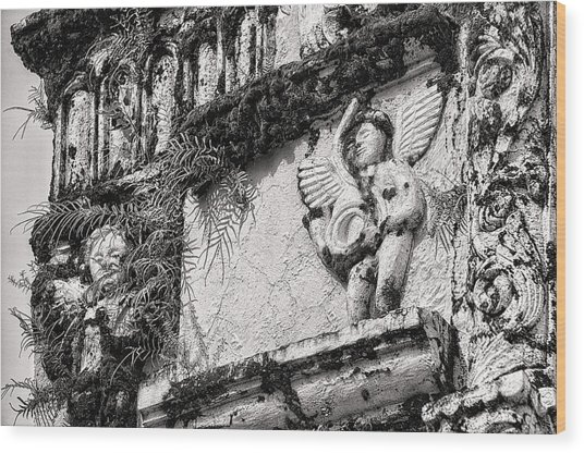 This Is The Philippines No.56 - St. Francis De Assisi Church Wood Print by Paul W Sharpe Aka Wizard of Wonders