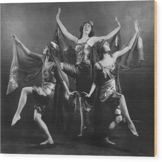 Three Graces Wood Print by Archive Photos
