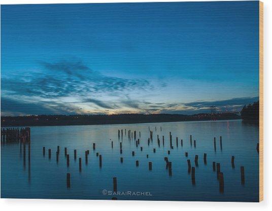Tiltow Beach Wood Print by Sarai Rachel