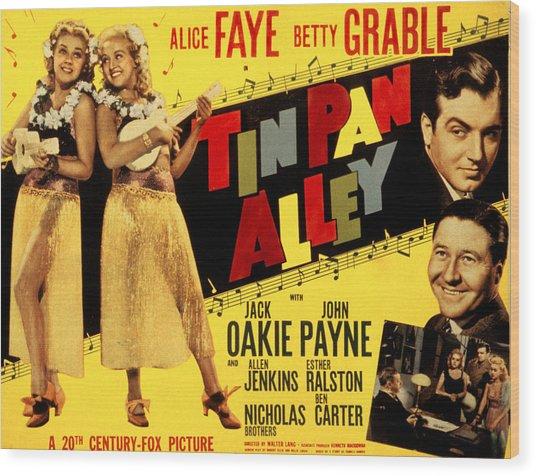 Tin Pan Alley, Alice Faye, Betty Wood Print by Everett