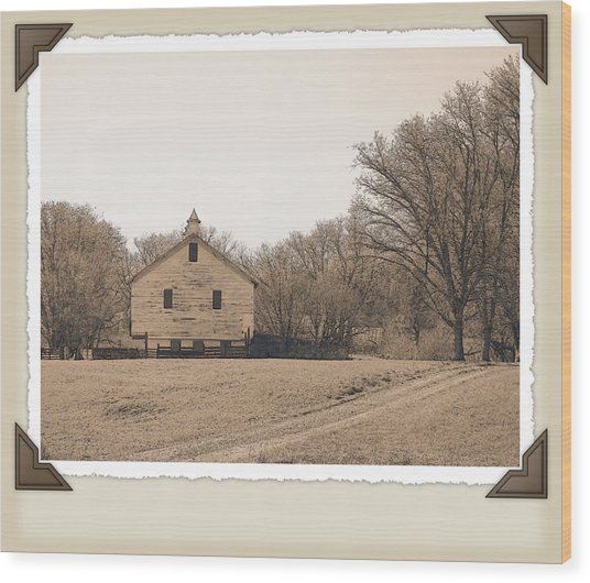 Tobacco Road Wood Print by Robert Boyette
