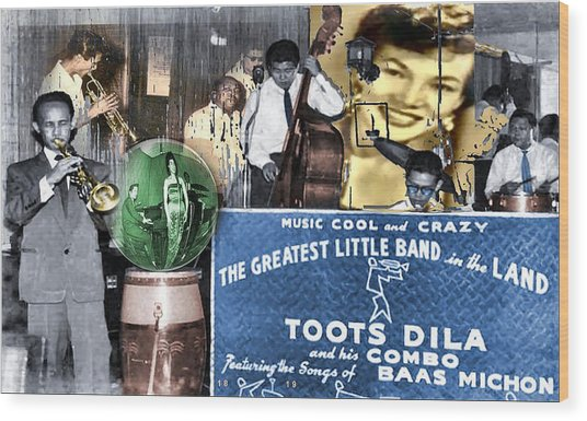 Toots Dila And Band Wood Print