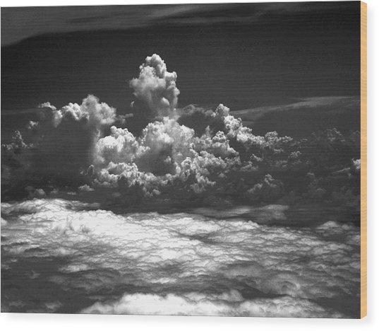Totem Cloud Wood Print
