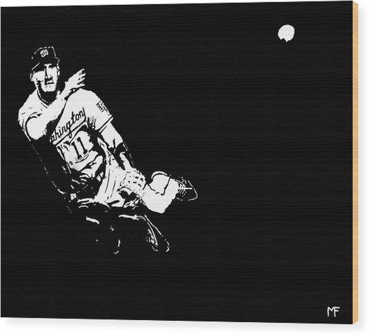 Tough Play Wood Print by Matthew Formeller