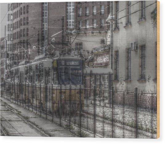 Tramway Wood Print