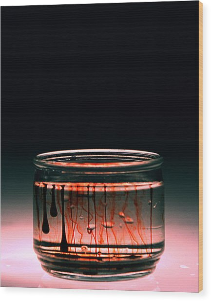 Trange Wood Print by Christian Allen