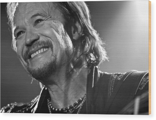 Travis Tritt - Portrait Of A Man Wood Print