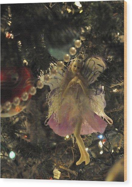 Tree Fairy Tfp Wood Print