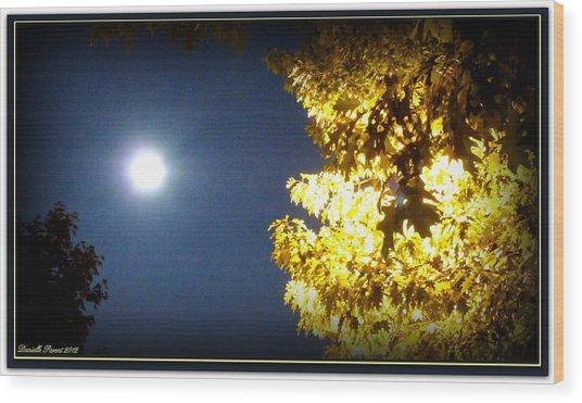 Tree Of Glory 1 Wood Print