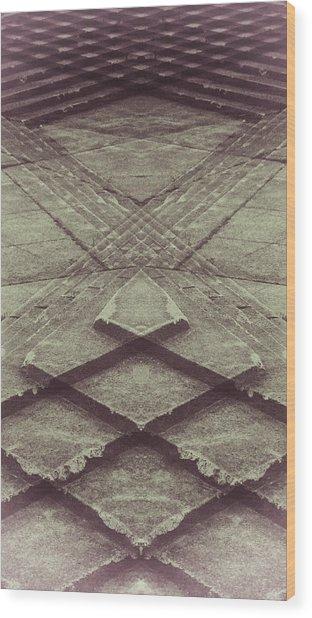Trip Wood Print