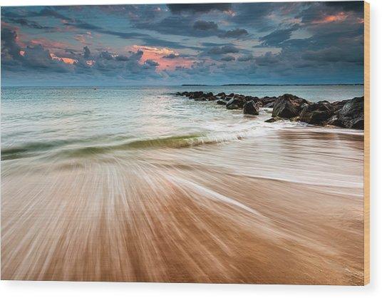 Tropic Sky Wood Print