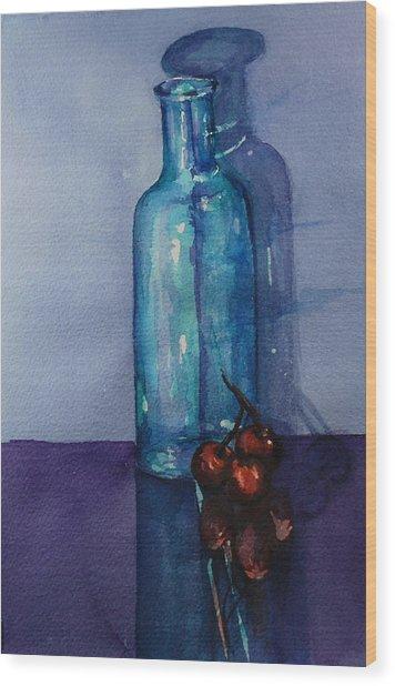 True Friends Are Transparent Wood Print by Donna Pierce-Clark