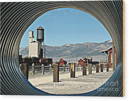 Tunnel Vision Wood Print